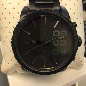 Desultory Men's Black stainless steel watch